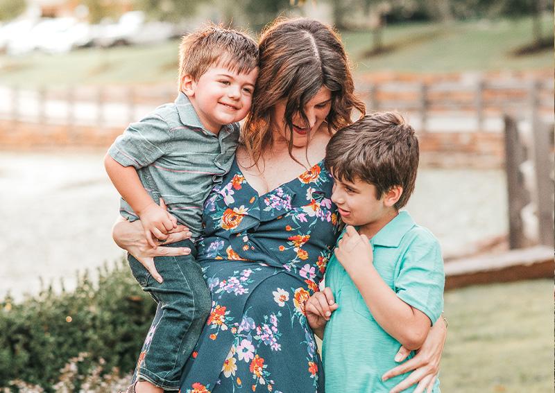 Karah Kinkhead and Family